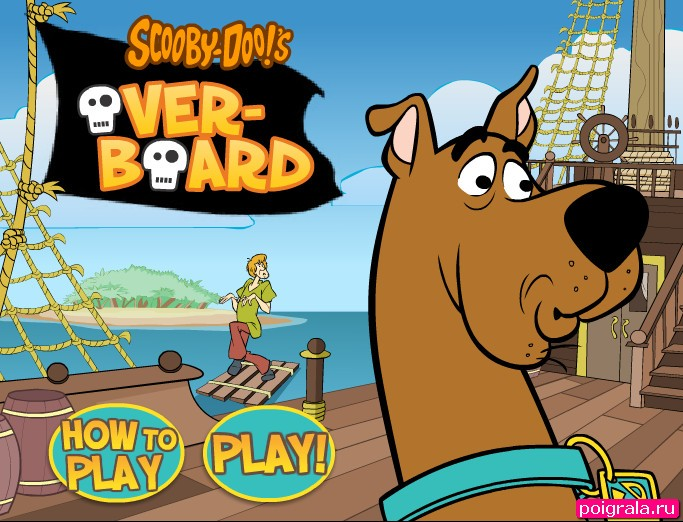 Картинка к игре Скуби на лодке