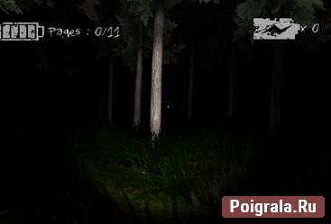 Картинка к игре Слендермен проклятый лес