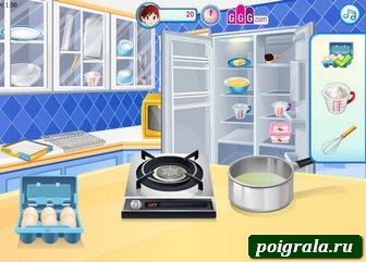 Картинка к игре Кухня Сары, эклеры