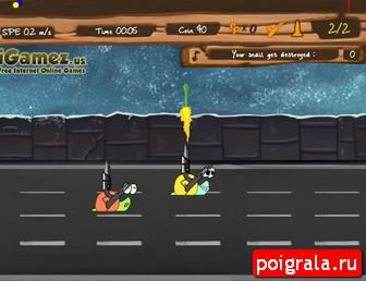Картинка к игре Улитка боб 9, гонки