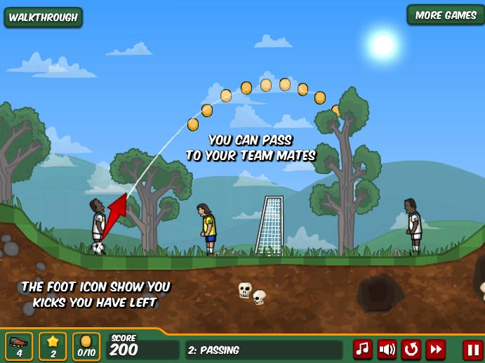Картинка к игре Футбольные мячи 2
