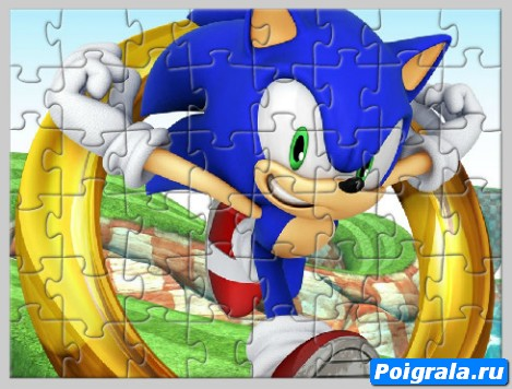 Картинка к игре Соник пазл