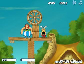Картинка к игре Разбуди Астерикса и Обеликса 2