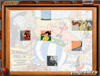 Картинка к игре Обеликс, пазл