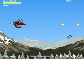 Картинка к игре Бен 10 космическая битва