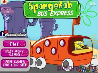 Губка Боб водитель автобуса картинка 1
