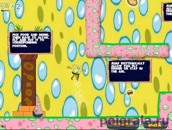 Картинка к игре Губка Боб и Патрик: мыльные пузыри