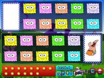 Картинка к игре Спанч Боб найди картинки