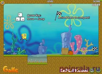 Картинка к игре Губка Боб большое приключение