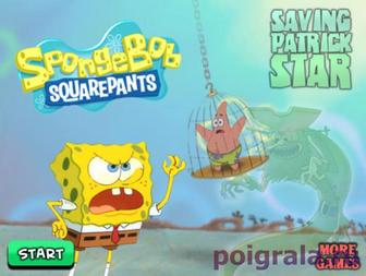 Игра Спанч Боб спасает Патрика