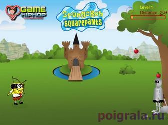 Картинка к игре Спанч Боб против зомби