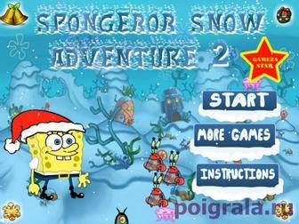 Игра Спанч Боб снежное приключение 2