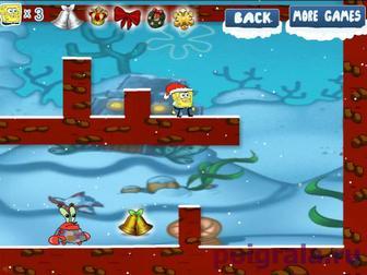 Картинка к игре Спанч Боб снежное приключение 2