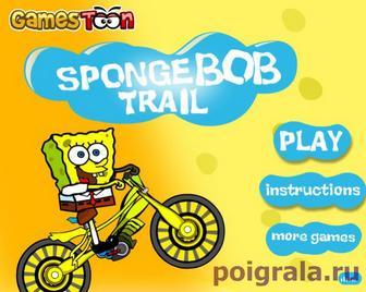 Спанч Боб триал на велосипеде картинка 1