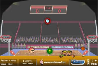 Картинка к игре Спортивные головы баскетбол