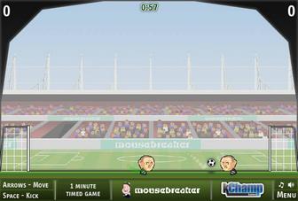 Картинка к игре Футбольные головы на двоих