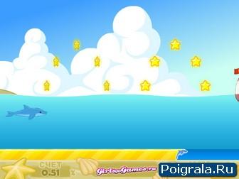 Картинка к игре Дрессированный дельфин