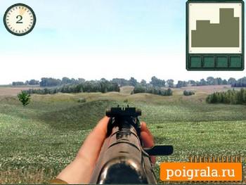 Картинка к игре Меткий стрелок, стрельба из автомата ак47