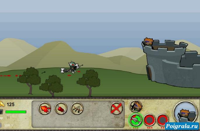 Картинка к игре Крепость в тумане