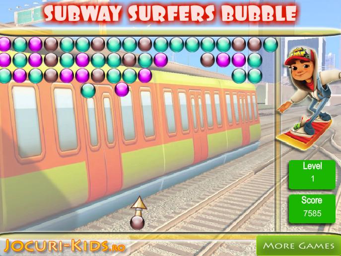 Картинка к игре Сабвей серф шарики