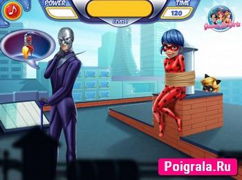 Картинка к игре Леди Баг похищена