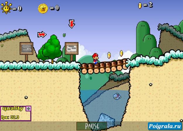 Картинка к игре Супер Марио 63