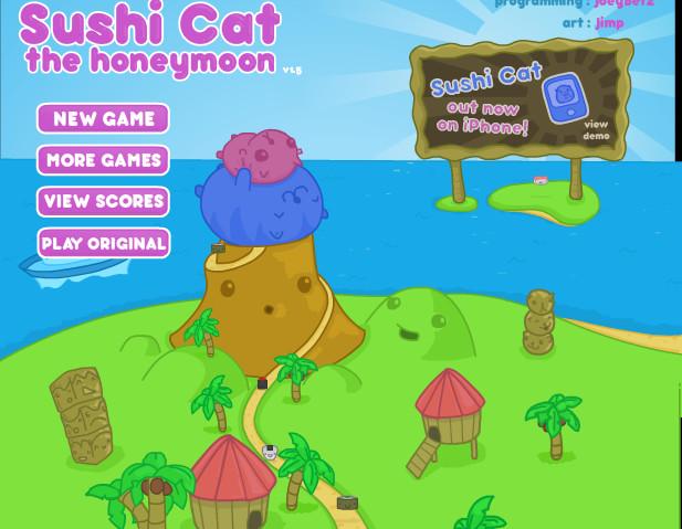Игра Суше кот
