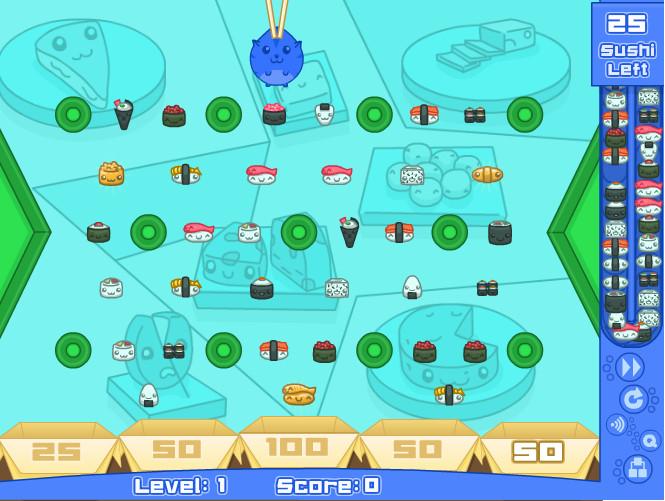 Картинка к игре Суши кот 2