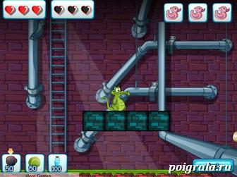 Картинка к игре Крокодильчик Свомпи 3