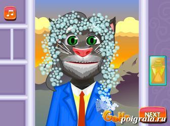 Картинка к игре Постриги кота Тома