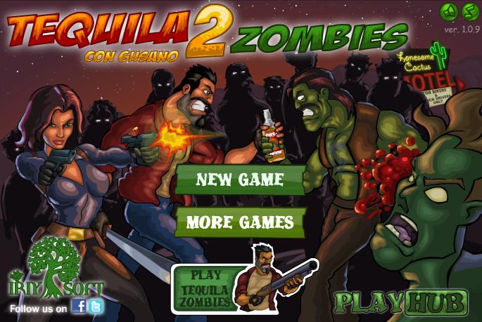 Игра Текила зомби 2