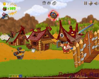 Картинка к игре War Cry - атака гоблинов