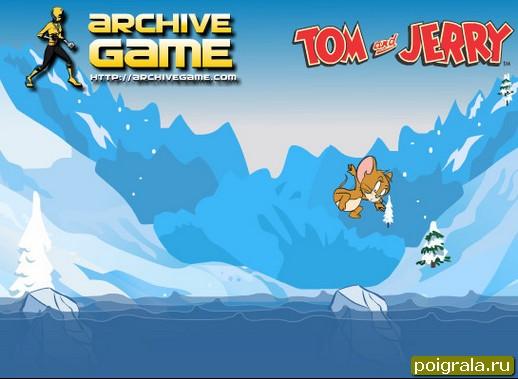 Картинка к игре Джерри прыгает по льду