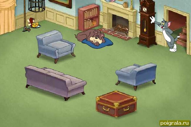 Картинка к игре Том и Джерри ловушки