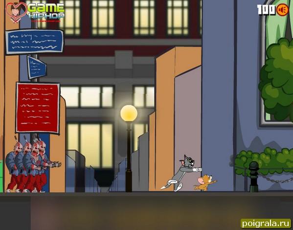 Картинка к игре Том и Джерри зомби