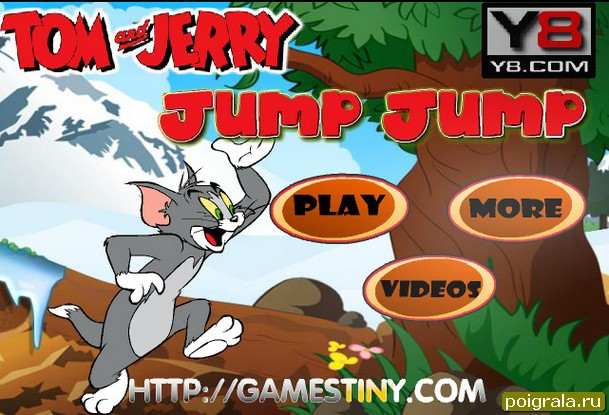 Игра Том прыгает на джампере