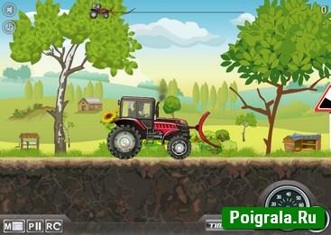 Картинка к игре Гонки на тракторе