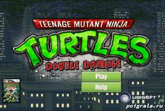 Игра Turtles double damage