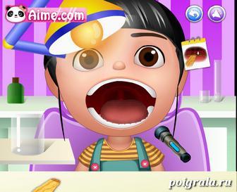 Картинка к игре Агнес у стоматолога