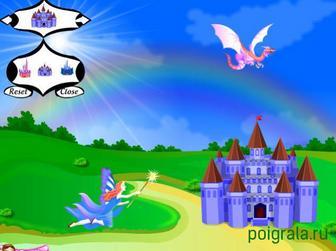 Картинка к игре Создайте замок единорогов