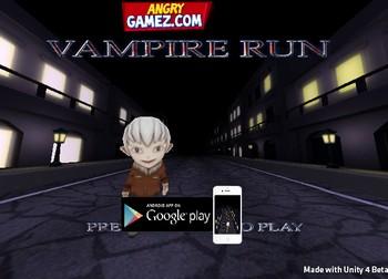 Бегущий мальчик вампир