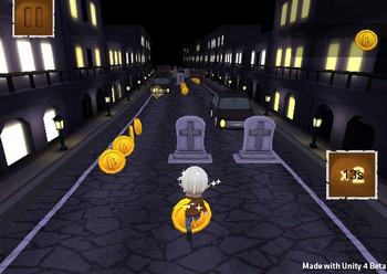 Картинка к игре Бегущий мальчик вампир