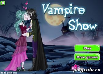 Игра Поцелуй вампира