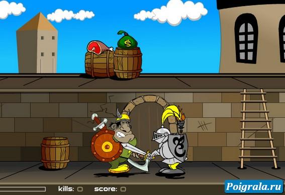 Картинка к игре Викинг против рыцарей