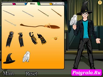 Картинка к игре Гарри Поттер волшебник