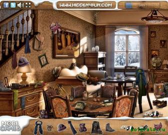 Картинка к игре Зимний дом