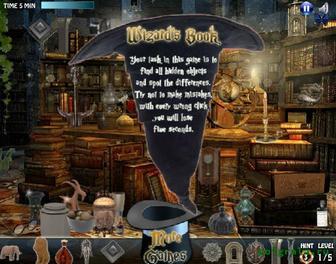 Картинка к игре Волшебная книга