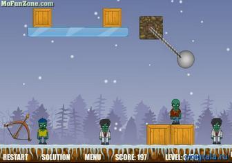 Картинка к игре Истребитель зомби