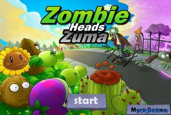 Игра Зума с зомби