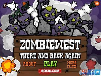 Игра Дикий запад зомби
